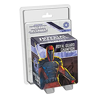 Star Wars: Imperial Assault - Royal Guard Champion Villain Pack: Fantasy Flight Games: Toys & Games