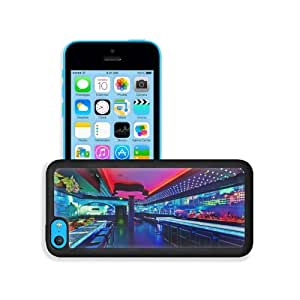 Architecture Design Bar Haven Lighting Apple iPhone 5C Snap Cover Premium Leather Design Back Plate Case Customized Made to Order Support Ready 5 inch (126mm) x 2 3/8 inch (61mm) x 3/8 inch (10mm) MSD iPhone_5C Professional Case Touch Accessories Graphic