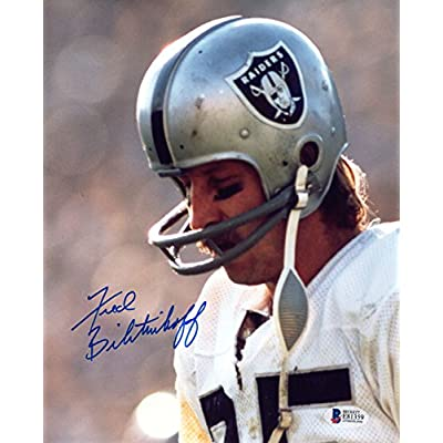 new styles d7f04 7abe5 FRED BILETNIKOFF SIGNED AUTOGRAPHED 8x10 PHOTO OAKLAND ...