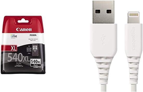 Patrone Canon Pg 540xl Amazon Basics Lightning Auf Usb A Kabel Apple Mfi Zertifiziert Weiß 0 9 M 1er Pack Bürobedarf Schreibwaren