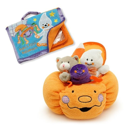 Baby's My First Pumpkin Halloween Play Set & Photo Album