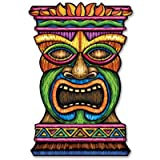 Kitchen & Housewares : Beistle 54553 Jumbo Tiki Cutout, 3-Feet