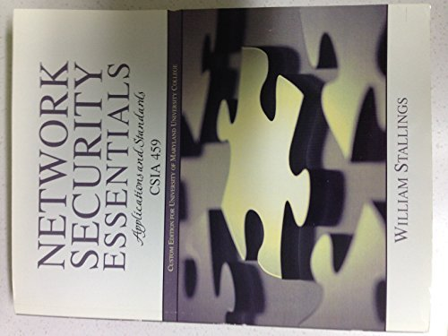 Network Security Essentials Applications And Standards Csia 459 4Th Edition