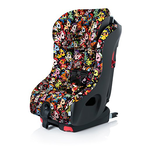 Clek Foonf Rigid Latch Convertible Baby and Toddler Car Seat, Rear and Forward Facing with Anti Rebound Bar, Tokidoki Unicorno Disco 2018
