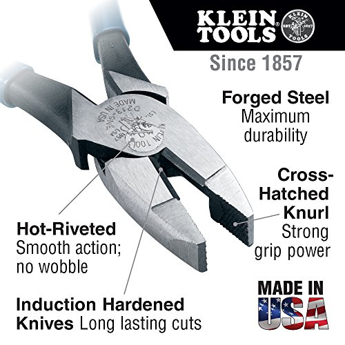 Buy klein side cutters 9 inch