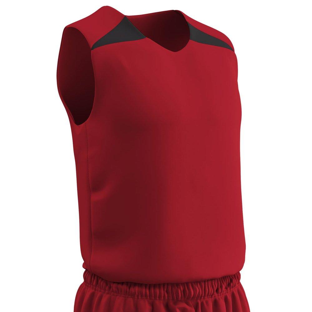 944cb9b4b64 Amazon.com: Champro PRO YOUTH REVERSIBLE Basketball UNIFORM JERSEY TANK TOP  SHIRT: Clothing