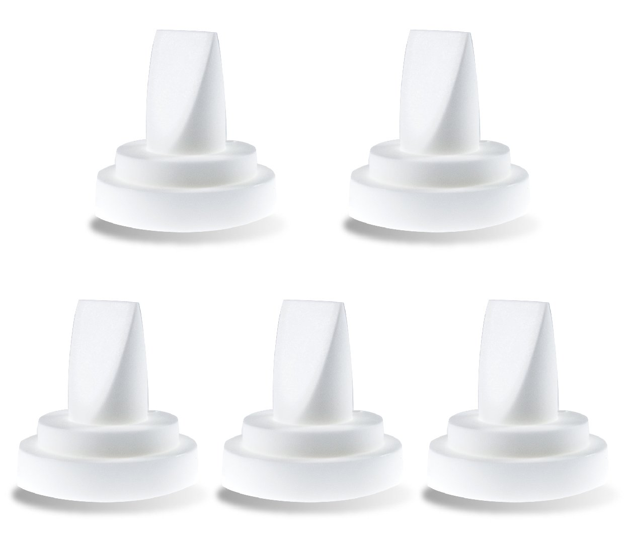 NeneSupply 5 Count Duckbill Valves for Medela and Spectra. Use with Spectra S1 Spectra S2 and Medela Pump In Style Symphony Not Original Spectra S2 Accessories Replaces Spectra Valve and Medela Valve N010-5V