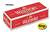 Westport Original King Size Cigarette Tubes 50 Cartons (1 Case)