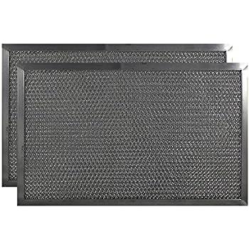 2 pack 9 x 15 x 38 range hood aluminum grease filters aff184
