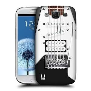 lintao diy AIYAYA Samsung Case Designs Black Electric Guitar Protective Snap-on Hard Back Case Cover for Samsung Galaxy S3 III I9300