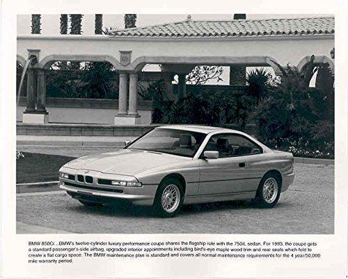 1993 BMW 850Ci Automobile Photo Poster from AutoLit