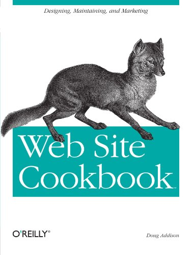 Web Site Cookbook: Solutions & Examples for Building and Administering Your Web Site (Cookbooks (O'Reilly)) (Web Design And Marketing Solutions For Business Websites)