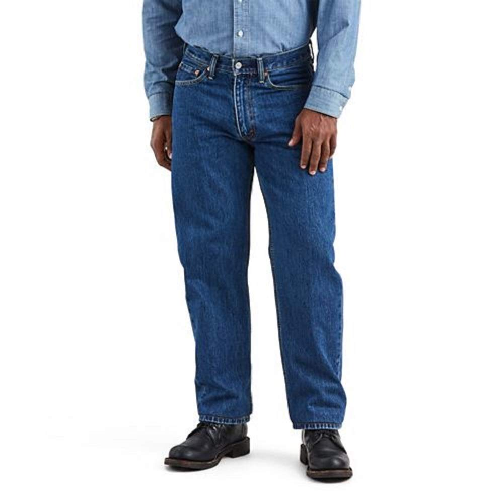 Levi's Men's 550-relaxed Fit Jean, Dark Stonewash, 38X32 by Levi's