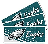 Set of Three Reflective Magnetic Decal Car Magnets Set for Car or Any Metal Surface