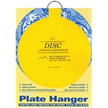 Flatiron Disc Invisible Plate Hanger, 5.5-Inch