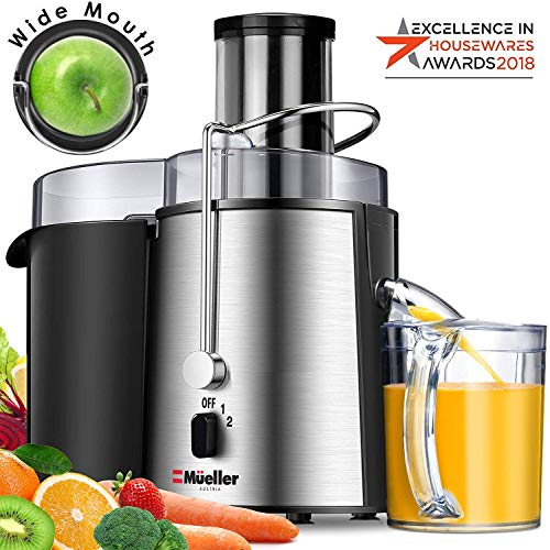 MUELLER Juicer Ultra 1100W Power, Easy Clean Juice Extractor
