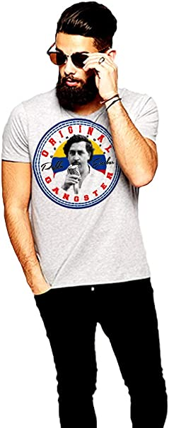 Pablo Escobar T-Shirt Medellin Cartel King of Cocaine Crime ...