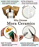 Mora Ceramic Large Pasta Bowls 30oz, Set of 4