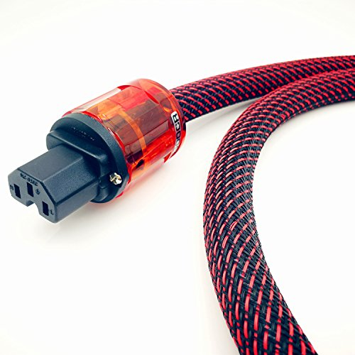 WAudio Hi-End Hifi Audio AC Power Cable Power Cord US Plug - 3.3FT (1M) by WAudio (Image #2)