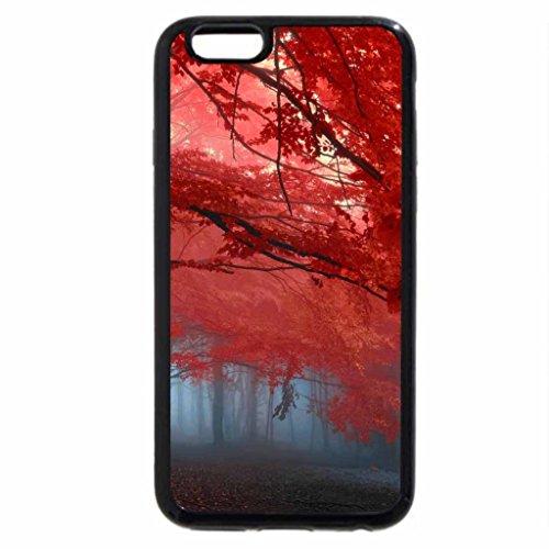 iPhone 6S Plus Case, iPhone 6 Plus Case, Red Leaves in Memories