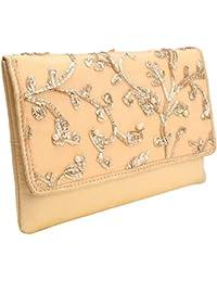 Suman Enteprisess Creation: Stylish Thread Embroidered Silk Clutch Wallet Womens Hand Purse Party Wear Ladies