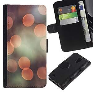 JackGot ( Llamarada cámara ) Samsung Galaxy S4 IV I9500 la tarjeta de Crédito Slots PU Funda de cuero Monedero caso cubierta de piel