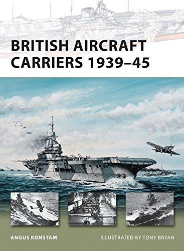 British Aircraft Carriers 1939–45 (New Vanguard) - New Military Aircraft