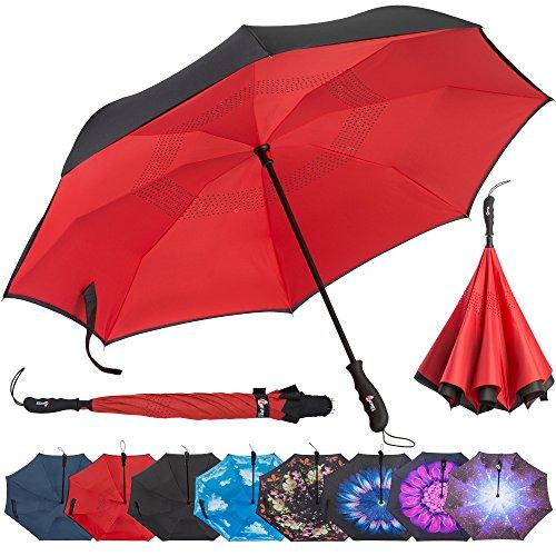 Repel Inverted Umbrella Reinforced Fiberglass