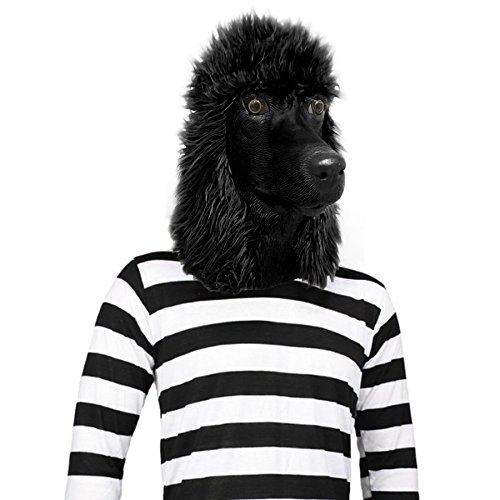 Off the Wall Toys Standard Poodle Mask Dog