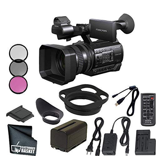 - Sony HXR-NX100 Full HD NXCAM Camcorder Base Bundle