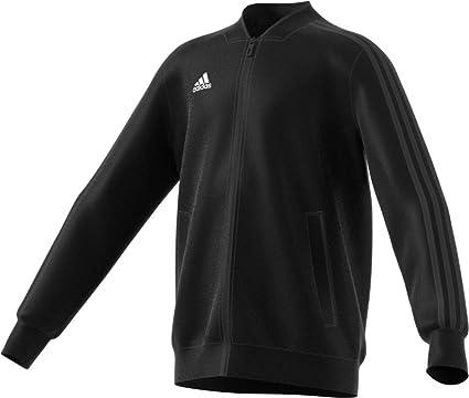 adidas Condivo 18 Training Jacket - Junior s Soccer S Black White 0c8b109403