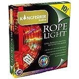 Kingfisher ROPE10M Flashing Decorative Rope Light, Transparent, 10 m