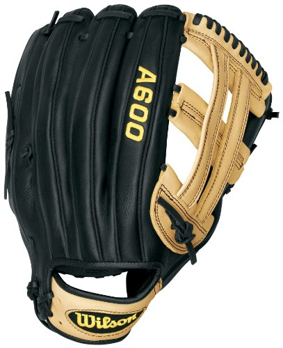 Wilson Baseball Fielders Glove (Wilson A600 SP13 Fielder's Throw Slow Pitch Glove (Left Hand Throw, 13-Inch))