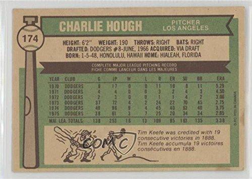 Amazon com: Charlie Hough (Baseball Card) 1976 O-Pee-Chee