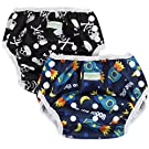 Wegreeco One Size Reusable Baby Swim Diaper,Boy Pattern