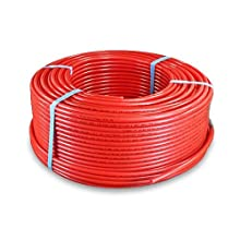 Pexflow PFR-R38100 Pex Tubing 3/8-Inch x 100-Feet Oxygen Barrier, Red