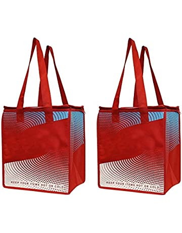 EarthWise 2 Piece Insulated Grocery Bag - Keeps Food HOT OR Cold Large Hot  Cold Thermal 8e50125fe71b6