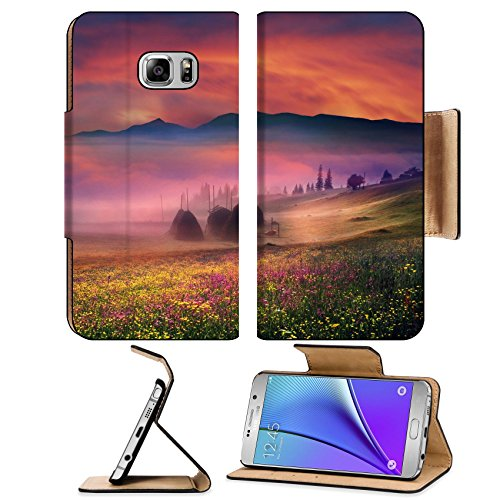msd-premium-samsung-galaxy-note-5-flip-pu-leather-wallet-case-carpathian-summer-is-the-warmest-and-b