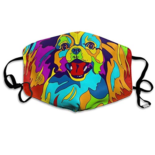 IH-OHW Multi-Color Papillon Anti Dust Face Mouth Cover Mask Respirator - Dustproof Anti-Bacterial Washable - Reusable Masks Respirator Windproof Mask