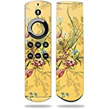 MightySkins Skin for Amazon Fire TV Remote - Yellow Marble End | Protective, Durable, and Unique Vinyl Decal wrap Cover | Easy to Apply, Remove, and Change Styles | Made in The USA