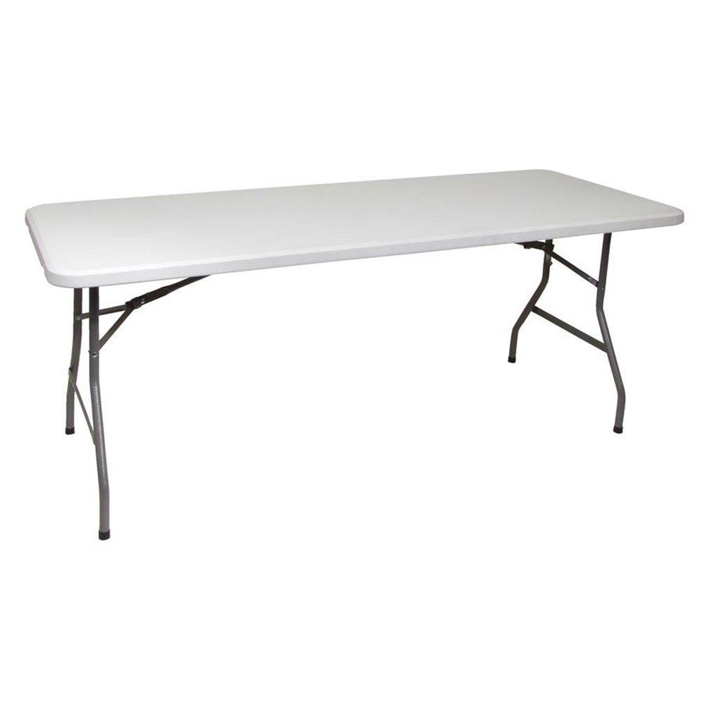 Campingtisch Kunststoff Klapptisch 180 cm Koffertisch Falttisch Gartentisch