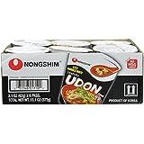 Nongshim Cup Noodle Soup, Tempura Udon, 2.18 Ounce (Pack of 6)