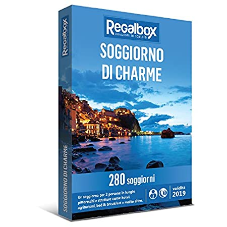 Regalbox - Soggiorno di charme - Cofanetto regalo: Amazon.it: Sport ...