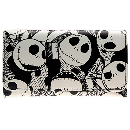 Halloween Piano Sheet Music Nightmare Before Christmas (CHITOP The Nightmare Before Christmas - Jack Skellington Wallet - for Women)