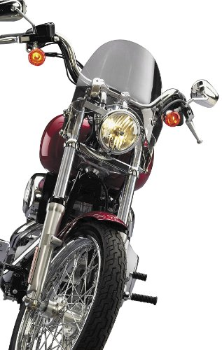 National Cycle N21736 Switchblade Shorty Tint Windshield for Kawasaki VN900C -