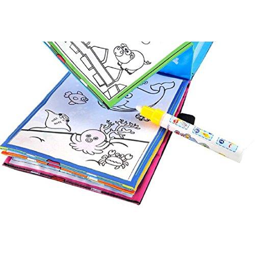Magic Water Drawing Book Coloring Book