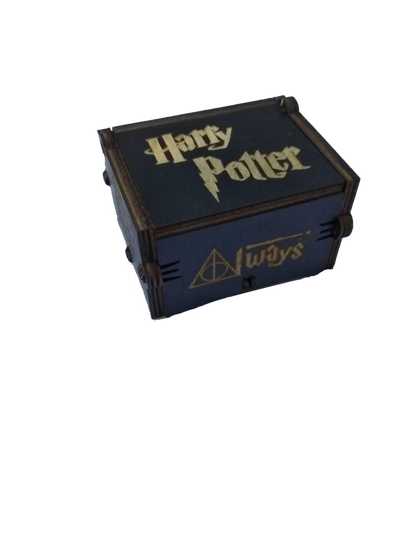 su ma Reine Hand-Klassische Harry Potter Spieluhr Hand-H/ölzerne Spieluhr Kreative Holz Handwerk Besten Geschenke