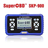 ICARSCANNER Original SuperOBD Skp900 OBD2 Car Key Programmer Immobilizer V5.0 NO Tokens Limitation Life-time Free Update Online 3 Year Warranty