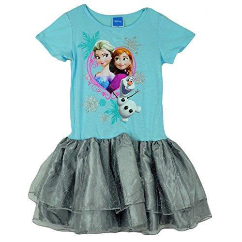 Frozen Disney Sisters Anna, Elsa and Olaf Tutu Dress Costume (Elsa And Anna Tutu Costume)