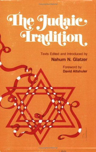 The Judaic Tradition